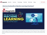 What are the Benefits of Machine Learning in Business?