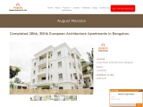 British Style Designed Homes in Bangalore   Completed Residential Complex in Richmond Town