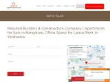 Top Real Estate Company, Reputed Builders in Bangalore