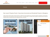New Project Launches Bangalore | Upcoming Properties News, Press, Media Events