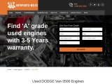 Buy An Used Dodge Van 3500 Engines For Sale In USA
