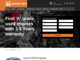 Buy Online Used Ford Engines USA – Shipping & Warranty