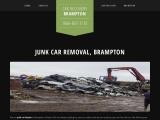 Junk Car Removal in Brampton Ontario