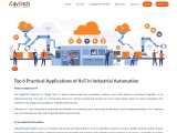 Top 6 Practical Applications of IIoT in Industrial Automation