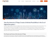 How the Internet of Things Creates Unlimited Possibilities in the Era of Digital Disruption ?