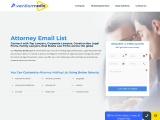 Attorney Email List and Mailing List
