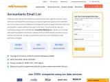 Accountant Email List | Accountant Email Address | 34,000 Contacts | Averickmedia