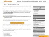 Boat Owners Mailing List | Boat Owner Database |Averickmedia