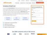 Investor Mailing List | Investor Email Database | Averickmedia