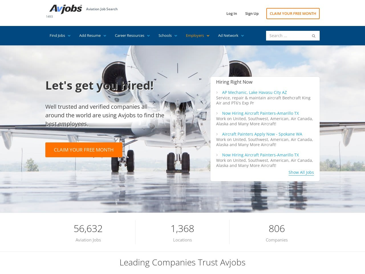 Maintenance Job At Executive Airshare - Line Service Technician
