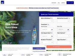 AXA Assistance USA screenshot