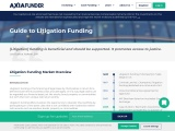 Litigation financing  Guide to Third Party Litigation Funding UK