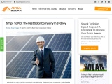 5 Tips to pick the Best Solar Company in Sydney