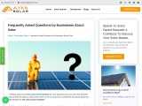 Frequently Asked Questions by Businesses About Solar