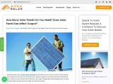 How Many Solar Panels Do You Need? Does Solar Panel Size affect Output?