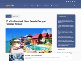 Villa unik untuk menikmati ketenangan saat liburan di Nusa Penida