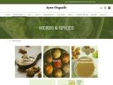 Herbs & Spices Ayur Organic | Organic Castor Oil Australia