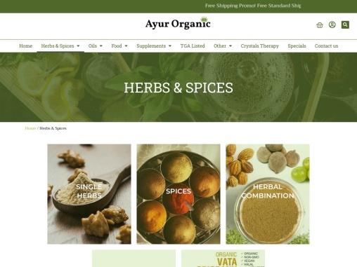 Herbs & Spices Ayur Organic   Organic Castor Oil Australia