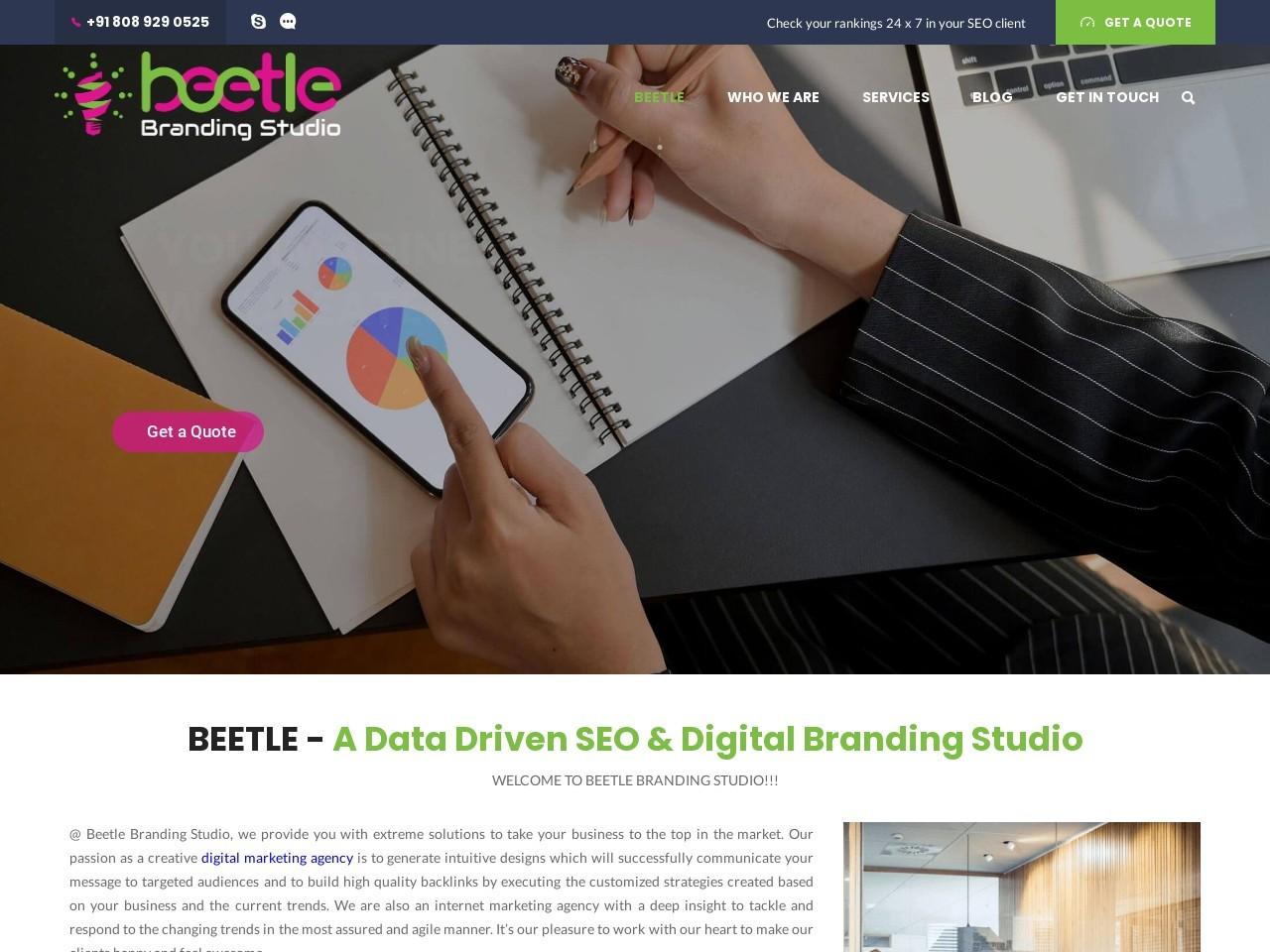 Search Engine Optimization to Increase Organic Traffic   Beetle Branding Studio
