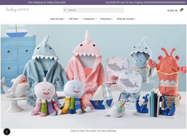 Baby Aspen Discount Codes screenshot