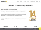 Business Analyst course in Mumbai with certificate