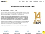 Business Analyst Certification training in Pune