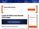 Arrest Records | Public Arrest Records Florida | California Public Arrest Records