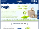 Water Activated Paper Tape by Bagla Group