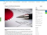 Degree Certificate Attestation