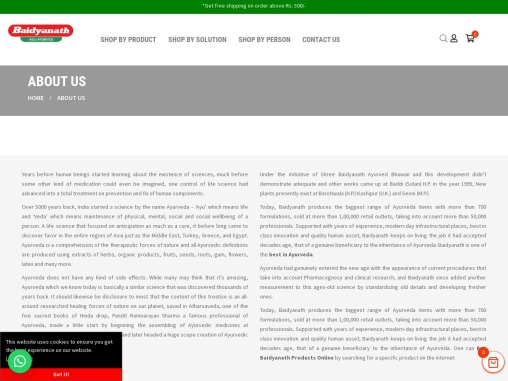 Shree Baidyanath Ayurved Bhawan Pvt Ltd – Baidyanath Nagpur