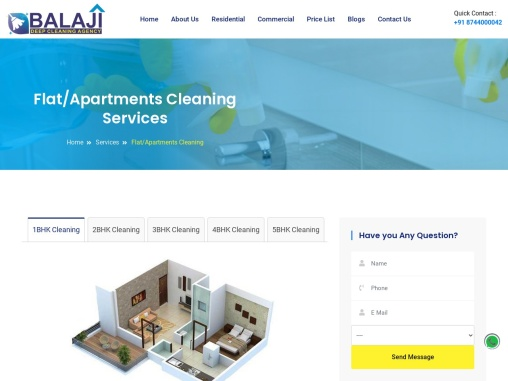 Apartments Cleaning Services In Gurgaon