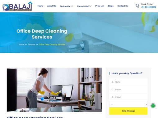 Office Deep Cleaning Services In Gurgaon