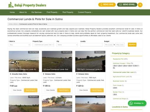 Commercial Lands for Sale in Satna