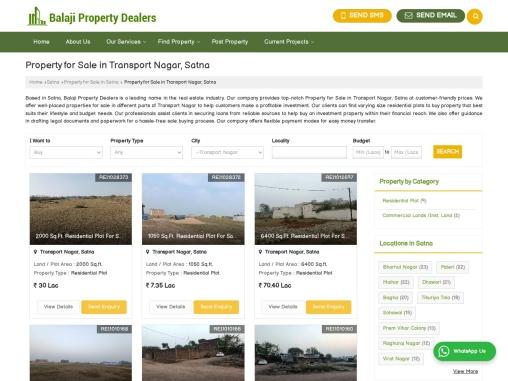 Property For Sale in Transport Nagar