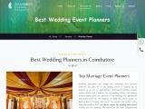 Best Wedding Planners in Coimbatore Top Wedding Event planners