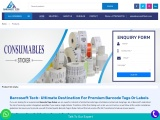 Barcode Tags Dubai | Barcode Paper Roll | Weighing Label Sticker