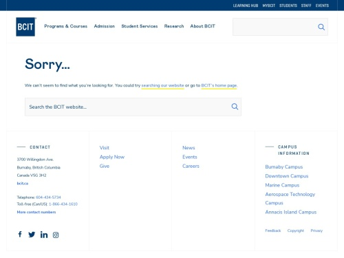 BCIT : : New Media Design and Web Development: Full-time, Certificate