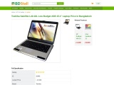 "Toshiba Satellite L40-18L Low Budget 2GB 15.1"" Laptop"