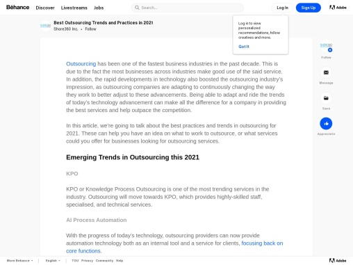 Best Outsourcing Trends and Practices in 2021