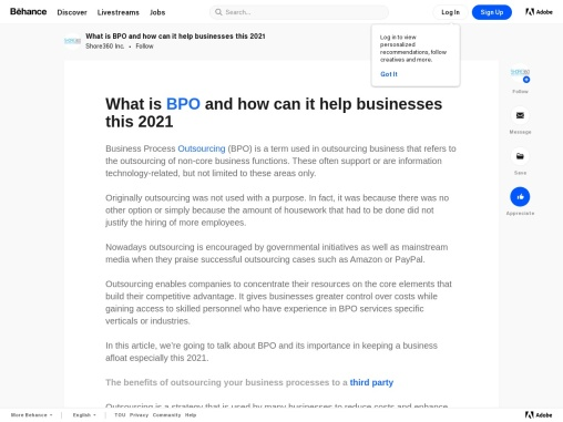 What is BPO and how can it help businesses this 2021