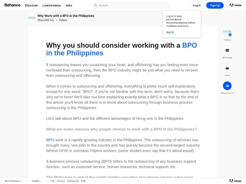 Why Work with a BPO Company in the Philippines