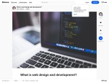 What is web design and development?