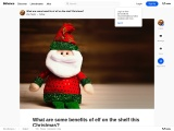 What are some benefits of elf on the shelf this Christmas?