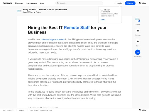 Hiring the Best IT Remote Staff for your Business