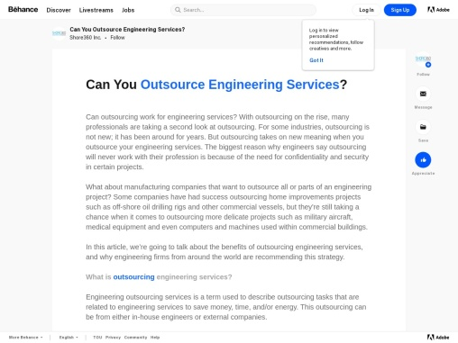 Can You Outsource Engineering Services?