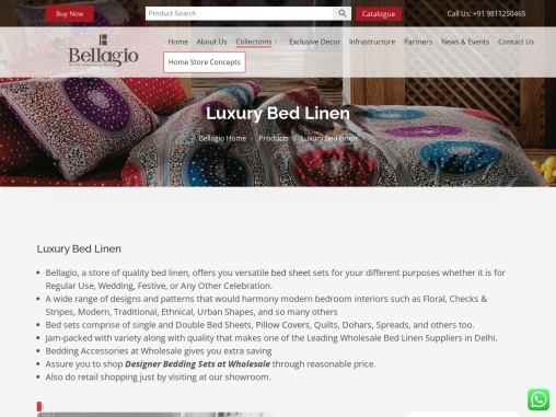Décor Bed Sheets with Fine Quality & Class
