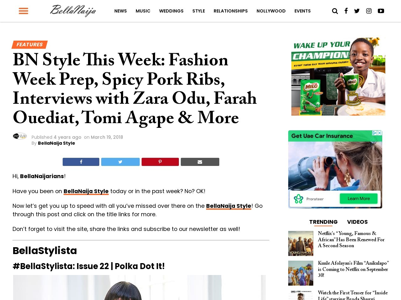 BN Style This Week: Fashion Week Prep, Spicy Pork Ribs & More