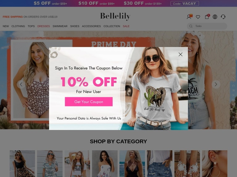 Belle Lily screenshot