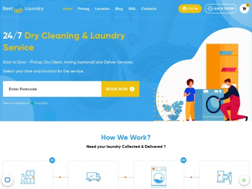Best Laundry Service in London – BestatLaundry
