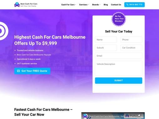 cash for cars Melbourne   bestcashforcarz